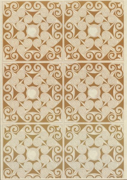 A4 Crafthouse Press Ancient Tile Gold